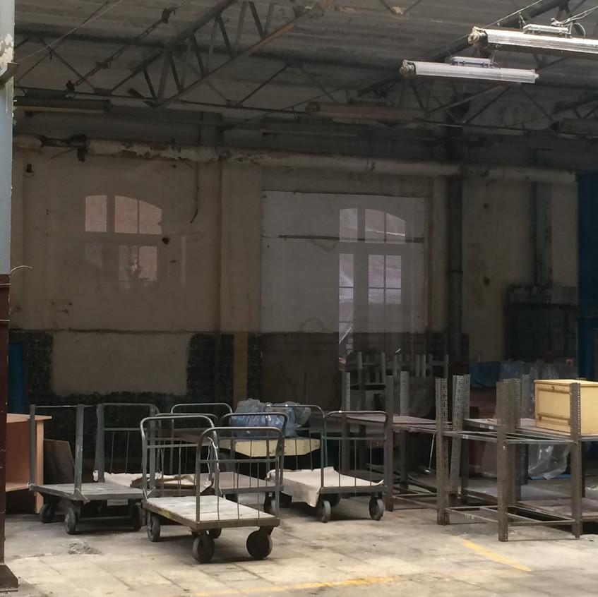 Empty spinning mill