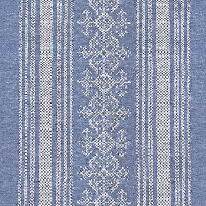 Nostalgia Linen Fabric, Blue