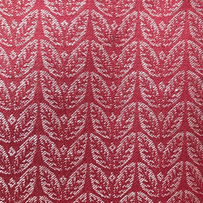 Memory Leaf Fabric, Red