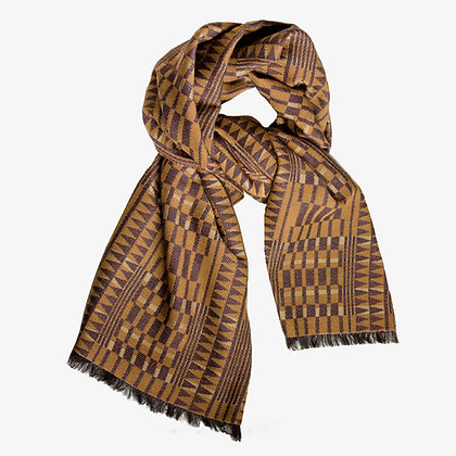 Africana Unisex Cashmere Blend Scarf, Forest