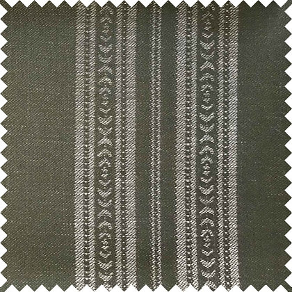 Swatch of Memory Stripe Fabric, Forest