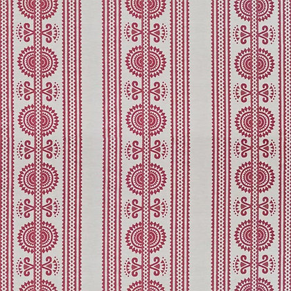 Kurpie Fabric, Red