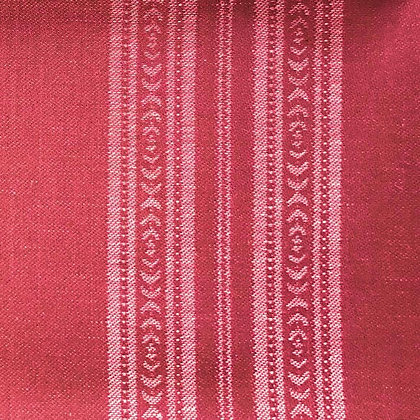 Memory Stripe Fabric, Red