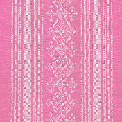 Nostalgia Linen Fabric, Cranberry