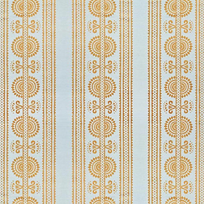 Kurpie Fabric, Gold