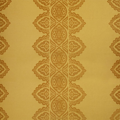 India Chenille Fabric, Peela / Gold (reversible)