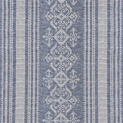 Nostalgia Tea Towel Blue
