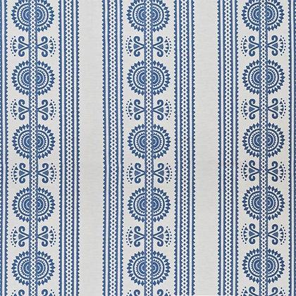 Kurpie Fabric, Blue