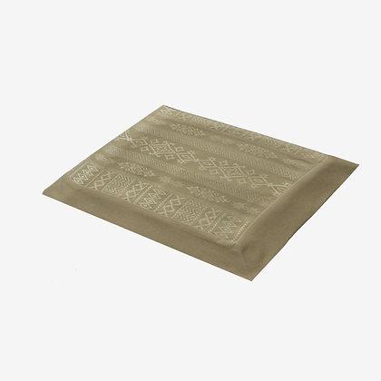 Arabica Tablecloth, Desert / White