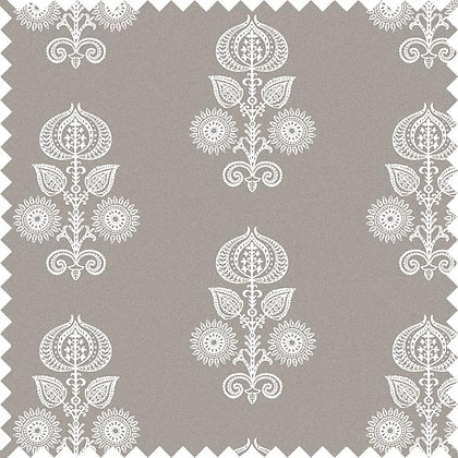 Swatch of Memory Floral Fabric, Natural