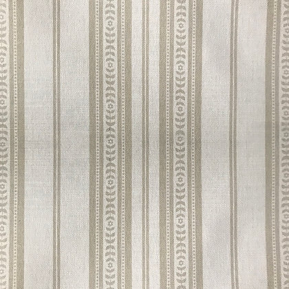 Memory Stripe Print,  Oatmeal on White
