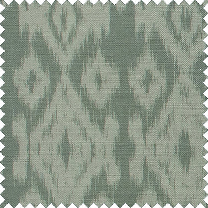 Swatch of Ikat,  Lily Pad
