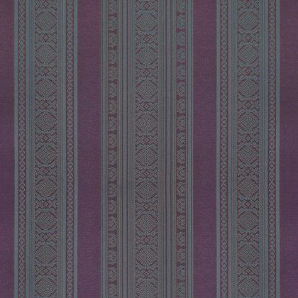 Hungarica Viscose Blend Fabric, Sloe / Cobalt (reversible)