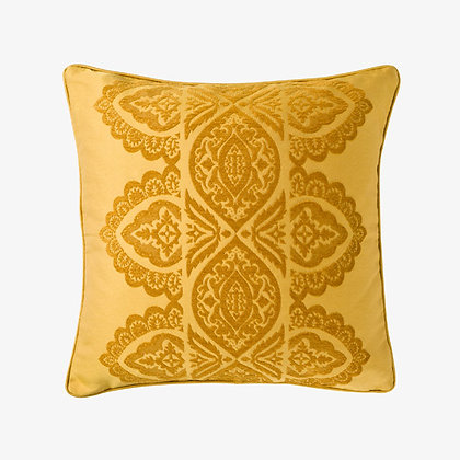 India Cushion, Peela / Gold