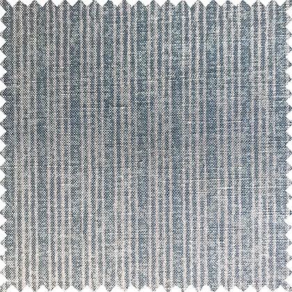 Swatch of Tribes Narrow Stripe, Blue Stone