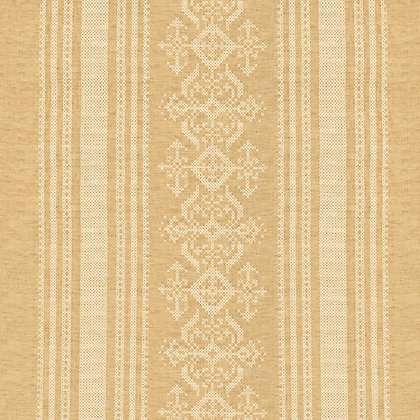 Nostalgia Linen Fabric, Gold