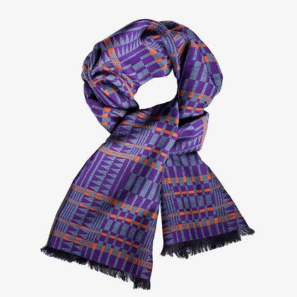 Africana Unisex Cashmere Blend Scarf, Autumn