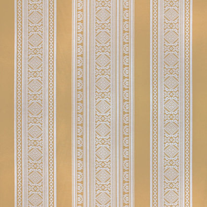 Hungarica Viscose Blend Fabric, Brass / Marble (reversible)
