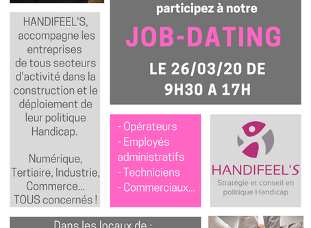 3ème édition du job dating HANDIFEEL'S !