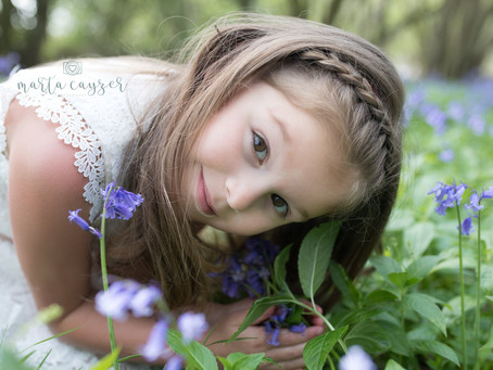 Children Photography in The Bluebells | Saffron Walden |