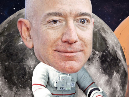 Lakhs of people don't want Bezos to return to earth!