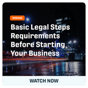 Legal Requirements: Basic Steps Before Starting Your Business