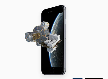 Exploring the International Space Station in Augmented Reality