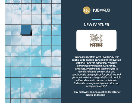 The Future of Industry: On The Road to Nestlé and GK-Plug and Play Collaboration