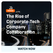 ID The Rise of Corporate-Tech Company Collaboration: How to Adopting Open Innovation