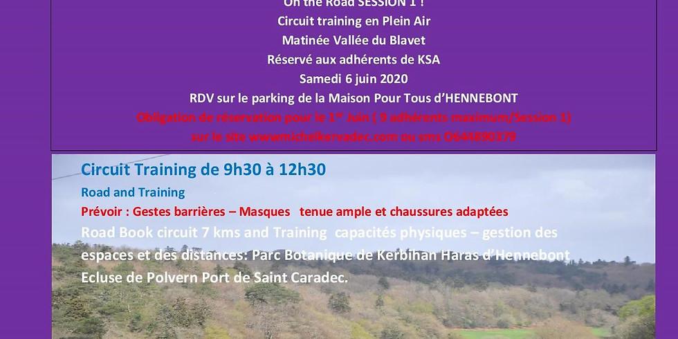 On The Road session 1 : matinée Vallée du Blavet