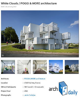WHITE CLOUDS > sur archdaily