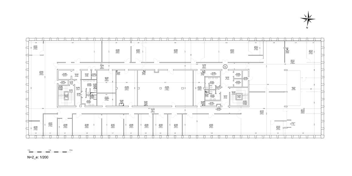URSSAF_Bordeaux plan etage