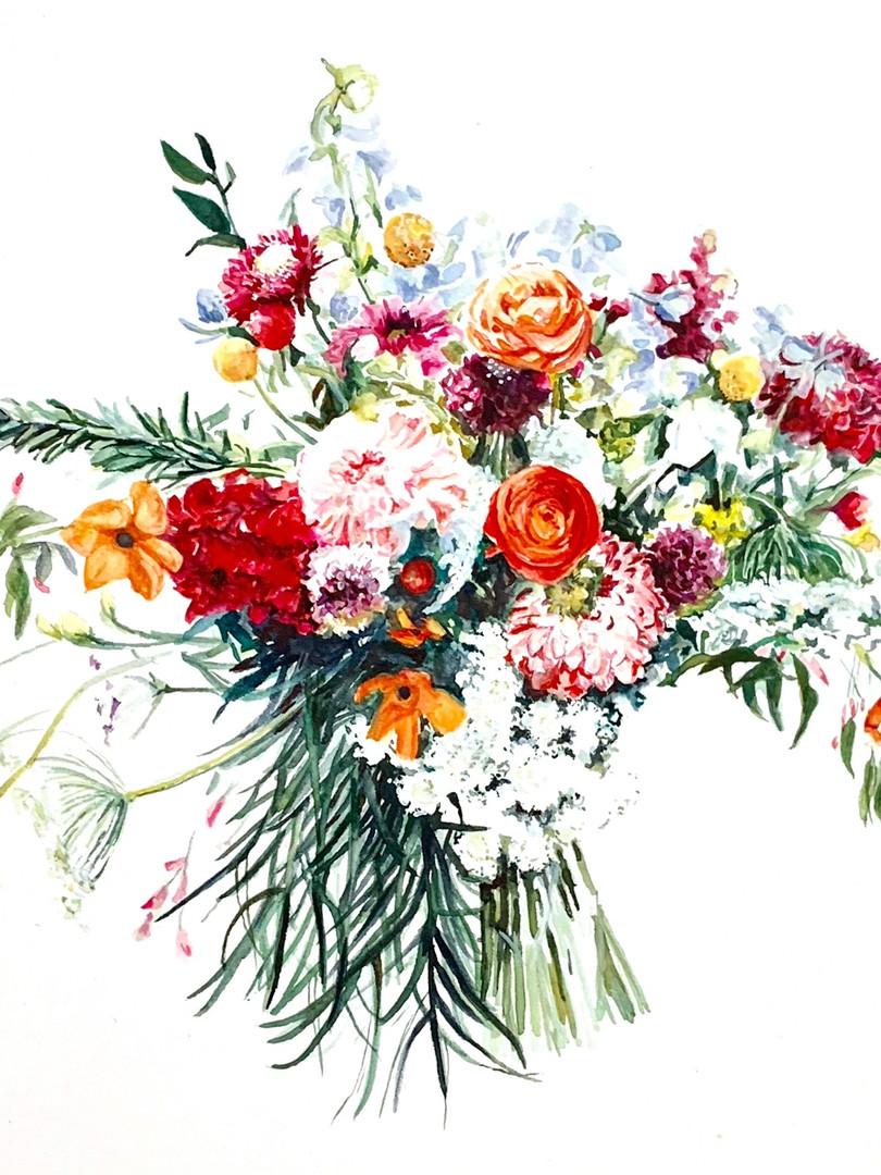 14x11 Watercolor