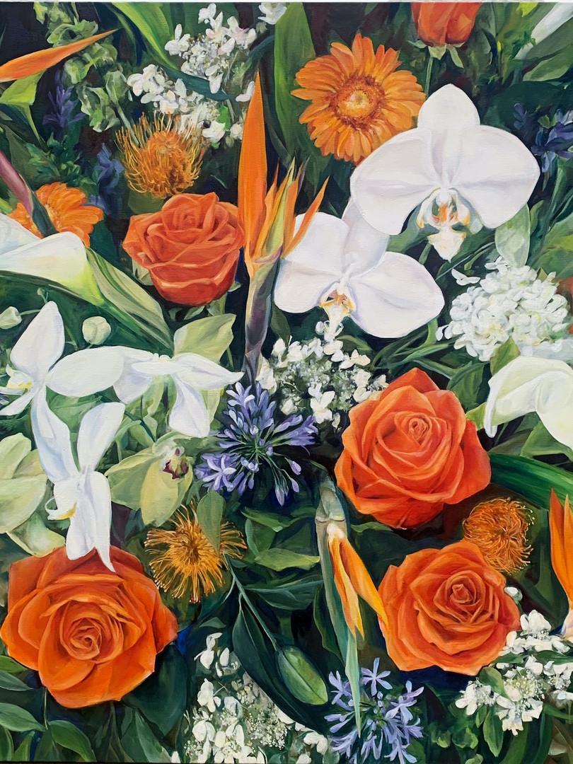 36x36 Oil on Canvas $1,800