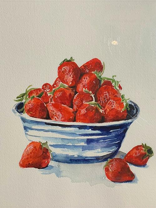 14x16 Strawberries