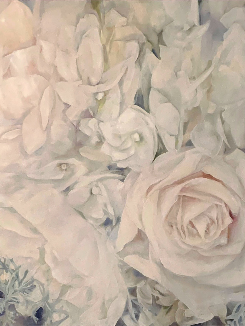 36x36 Oil on Canvas $850