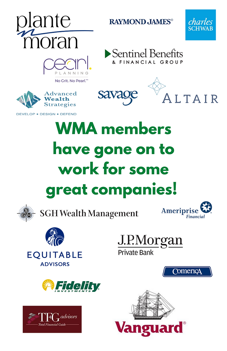 WMA Members have gone one to work for th