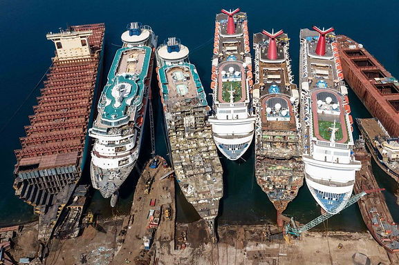 Booming Business of Recycling Cruise Ships