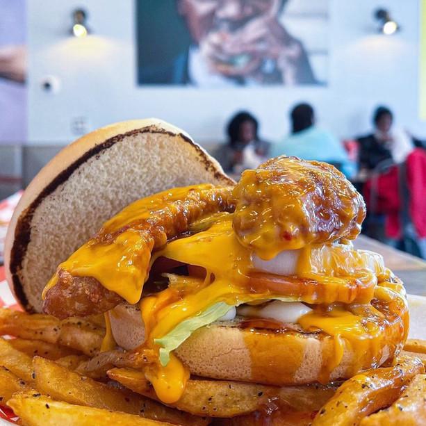 Cheesy Korean Sandwich