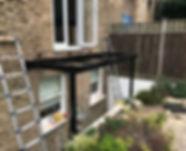 London Balcony installation