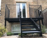 London Balcony & Steps installation completed