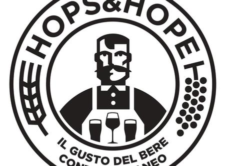 Il nuovo logo di Hops&Hope.