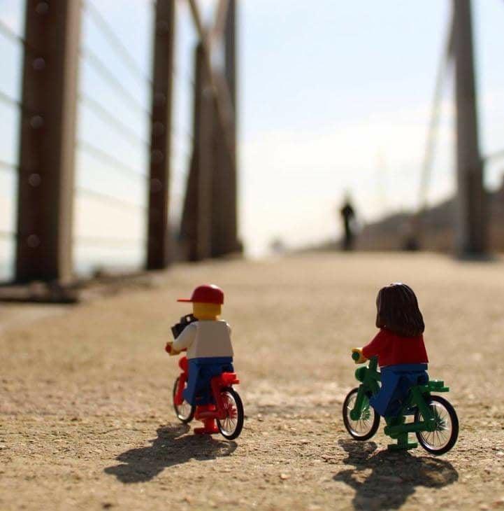 Dell'arte di andare a lavoro in bici