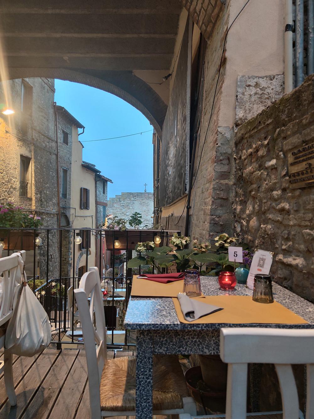 Via della Viola, ristorante Il Moderno, slow restaurant