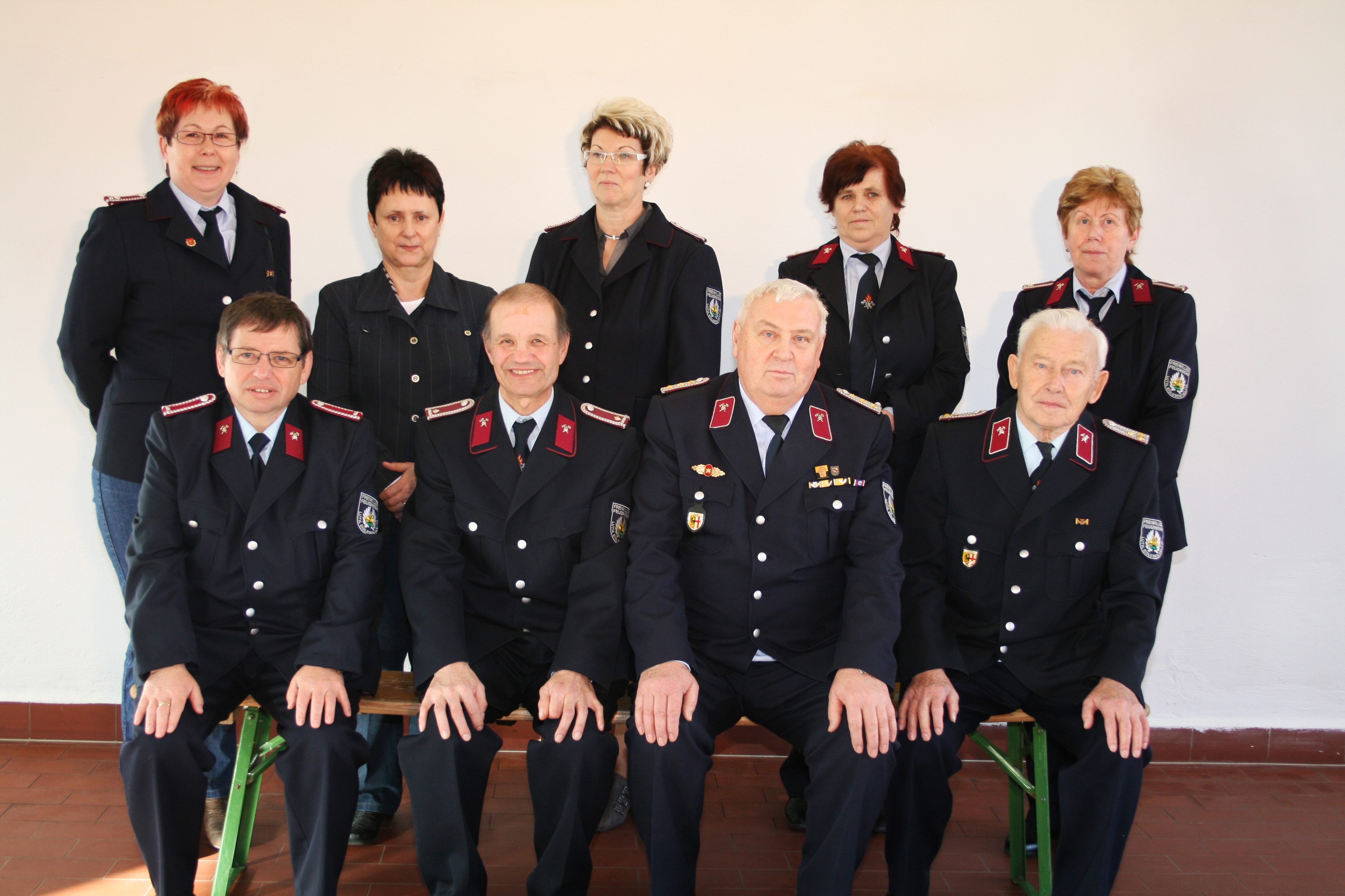 Alters- und Ehrenabteilung 2014