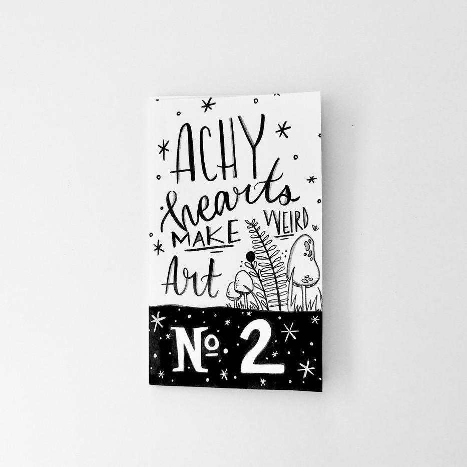 Achy Hearts Make Werid Art #2
