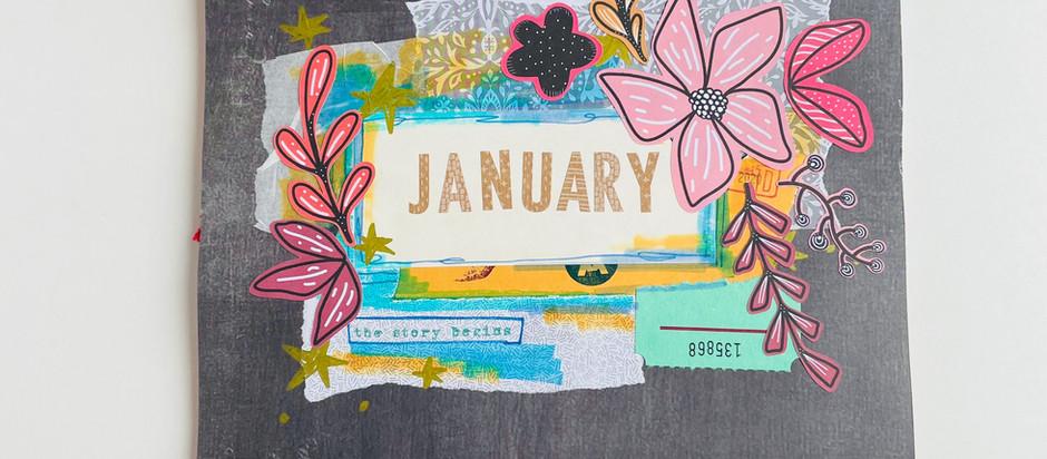January Art Journal!