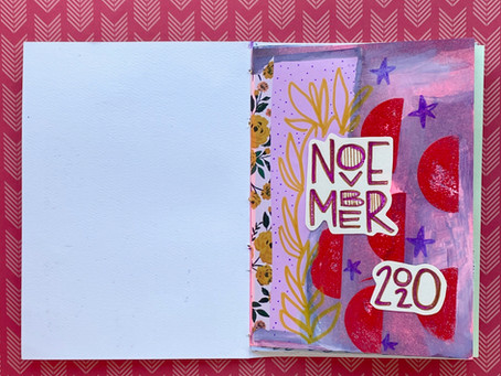 November Art Journal!
