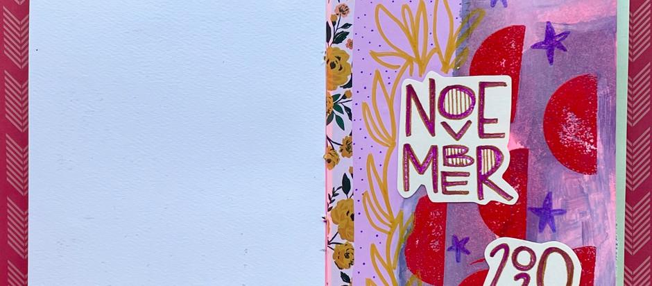 November Art Journal!