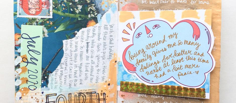 July Art Journal